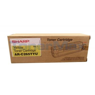 SHARP AR-C265P TONER CARTRIDGE YELLOW
